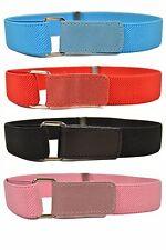 1-15 Yrs, Kids / Junior Belts. Boys & Girls Stretch Hook & Loop Belts