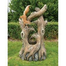 Design Toscano Tree Squirrel Cascading Sculptural Fountain