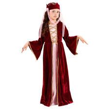 Burgfräulein Kostüm Mittelalter Königin Kinderkostüm Kinder Königin Verkleidung