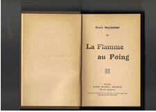 LA FLAMME AU SOLEIL ROMAN SICILIEN  ANDRE DODERET   ALBIN MICHEL  1922