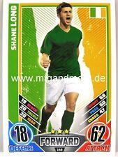 Match Attax Euro EM 2012 - #149 Shane Long - Irland