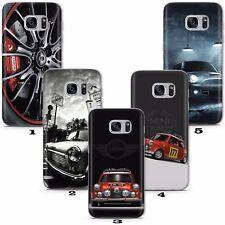 Mini Cooper Car John Works Case Cover Phone Galaxy S5 S6 S7 S8 S9 Plus Edge A J