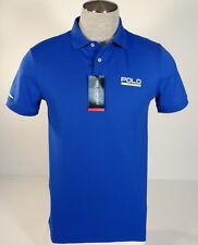 Polo Sport Ralph Lauren Blue Short Sleeve Performance Polo Shirt Men's NWT