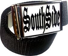 South Side Sureno 13 Cholo Belt Buckle Bottle Opener Adjustable Web Belt