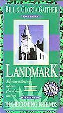 BILL AND GLORIIA GAITHER PRESENT ....LANDMARK Gospel  VHS 44L
