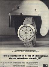 PUBLICITE 1970   TISSOT  montre