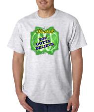 USA Made Bayside T-shirt Sports Baseball You Gotta Believe Got To