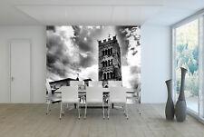 Papel Pintado Mural De Vellón Gris Edificio Cielo 1 Paisaje Fondo De Pantalla ES