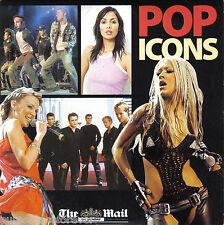 V/A - Pop Icons (UK 10 Trk CD Album) (Mail On Sunday)