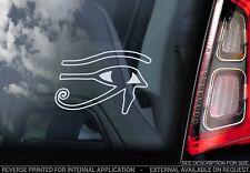 oeil de Horus - vitre voiture autocollant - Egyptien Wadjet décalcomanie RA