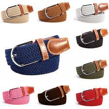 Cintura intrecciata elastica per uomo e donna - Diversi Colori