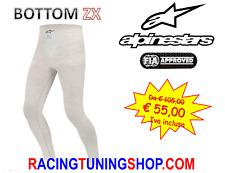 PANTALONE SOTTOTUTA ALPINESTARS OMOLOGATO FIA ZX BOTTOM - RACING white UNDERWEAR