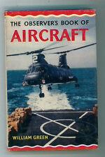 GREEN WILLIAM THE OBSERVER'S BOOK OF AIRCRAFT 1968 AERONAUTICA AVIAZIONE