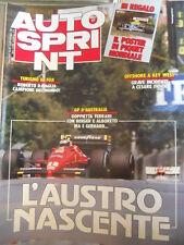 Autosprint 47 1987 dramma incidente a Cesare Fiorio