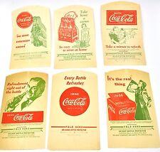 COCA-COLA COKE BOTTIGLIE Copertina USA anni '30 - DRI mano No-Drip PROTECTOR