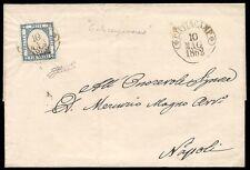 NAPOLI 1862 -  2 gr. n. 20 CIVITACAMPOMARANO SPL p. 8 € 950,00