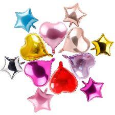 5pcs 18inch 45cm Heart Star Foil Helium Balloon Birthday Wedding Party Decor