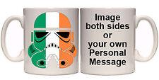 IRELAND IRISH STORMTROOPER PERSONALISED MUG & COASTER (O26) 11oz & 15oz MUGS