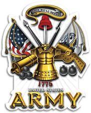 "Bumper Window 3M Reflective Sticker Decal U S Army Canons NEW choose 2"" 4"" 6"""