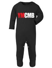 YMCMB - RAP LIL WAYNE - Organic Baby SleepSuit Romper