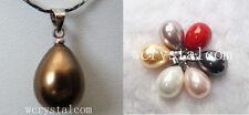 Nice Drop Teardrop Natural Sea Shell Pearls Pendant Wholesale Lot
