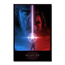 144882 Hot Star Wars th Last Jedi Custom Wall Print Poster AU