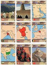 1991 Pro Set Desert Storm USA Military Base Card You Pick, Finish Your Set