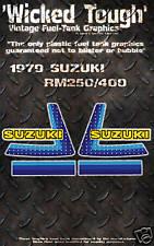 SUZUKI 1979 RM100 RM125 WICKED TOUGH DECAL GRAPHIC KIT