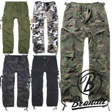 BRANDIT Herren Cargo Hose 1001 M65 Vintage Trouser Army Pants Outdoor Pure NEU 1