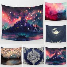 Wish Lights Tapestries Wall Hanging Bohemian Hippie Bedspread Throw Dorm Decor