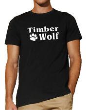 TimberWolf T-Shirt | Brustdruck | Wolfspfote | Markenshirt             1043-0-