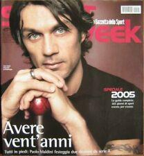 Sport Week-'05-PAOLO MALDINI,Sara Simeoni,Max Biaggi,Boris Becker,M Rosolino,n.1