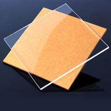 Clear Plastic Sheet Acrylic Plexiglass Panel 8x8/10x20/15x15/20x20/20x40/30x40cm