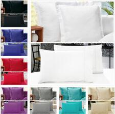 Pair of STANDARD / EUROPEAN Size Pillowcases - 1000TC Microfibre