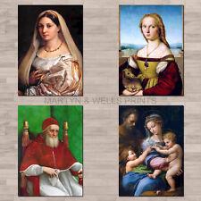 Raphael A4 canvas paper / poster prints.