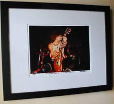 Guns N Roses 1985 fine art photo Paradise City Slash 1st Les Paul signed 14/100