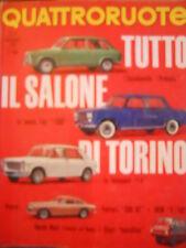 Quattroruote 107 1964 Tutte le novità del Salone di Torino