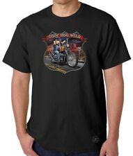 GOING HOG WILD T-Shirt ~ Biker Tee ~ Pork Chopper Route 66 Motorcycle