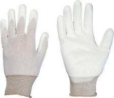 Feinstrick-Handschuhe Stronghand Beijing weiss, Feinstrick Polyurethan