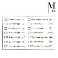 PMU Machine Needles Permanent makeup Micropigmentation Contour Cartridges Spring