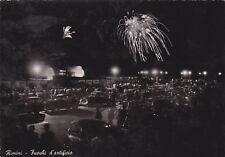 * RIMINI -Fuochi d'artificio di notte 1955
