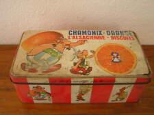 Boite à biscuit L'ALSACIENNE décor Astérix et Obélix