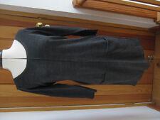 F & F CHARCOAL GREY KNITTED JUMPER DRESS TUNIC POCKETS UK 8 BNWT