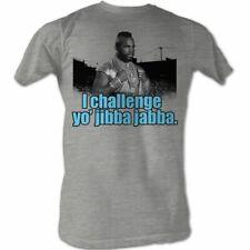 Mr. T Jibba Jabba Gray Heather T-Shirt