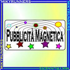 Targhe Magnetiche Pubblicitarie Altezza 30 cm (Calamite per Auto Furgoni Camion)