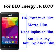 3pcs For BLU Energy JR E070  Matte/Nano Explosion/High Clear Screen Protector