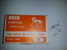 AU LION D'OR ( CANNELLE ) SERIES 1425 - 100 ami - 100 hooks