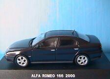 ALFA ROMEO 166 2.0 T.SPARK BANALISEE CARABINIERI 2000 DEAGOSTINI 1/43 BERLINE