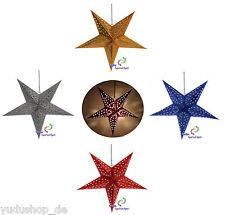 Ø 60cm Estrella Decoración Estrella De Luz Estrella Plegable Estrella de Navidad