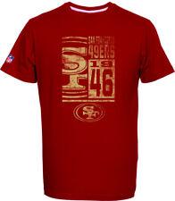 San Francisco 49ers T-Shirt Tee,NFL Football,100% BW,Logo,Team,from Majestic